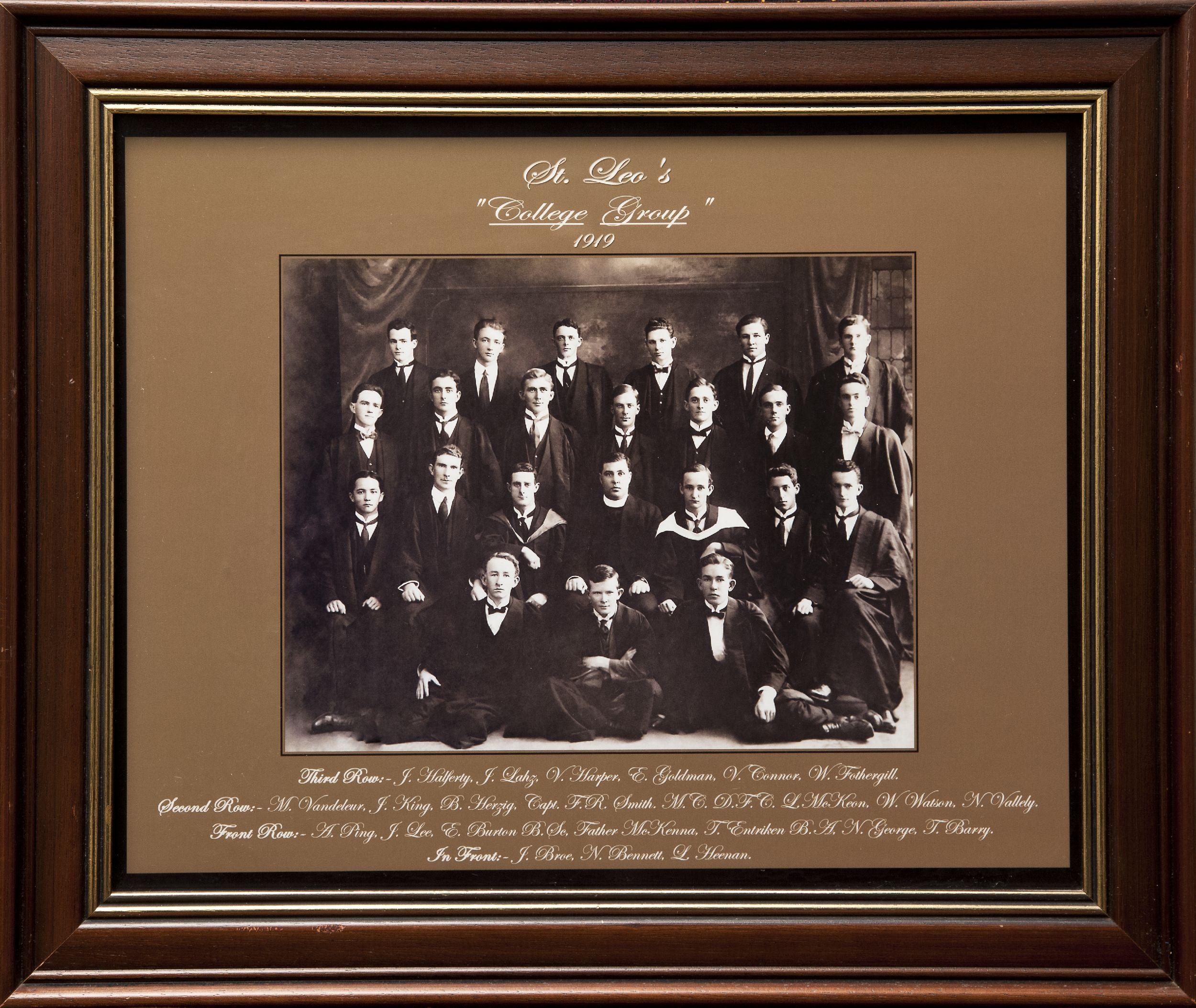 st leos college 1919