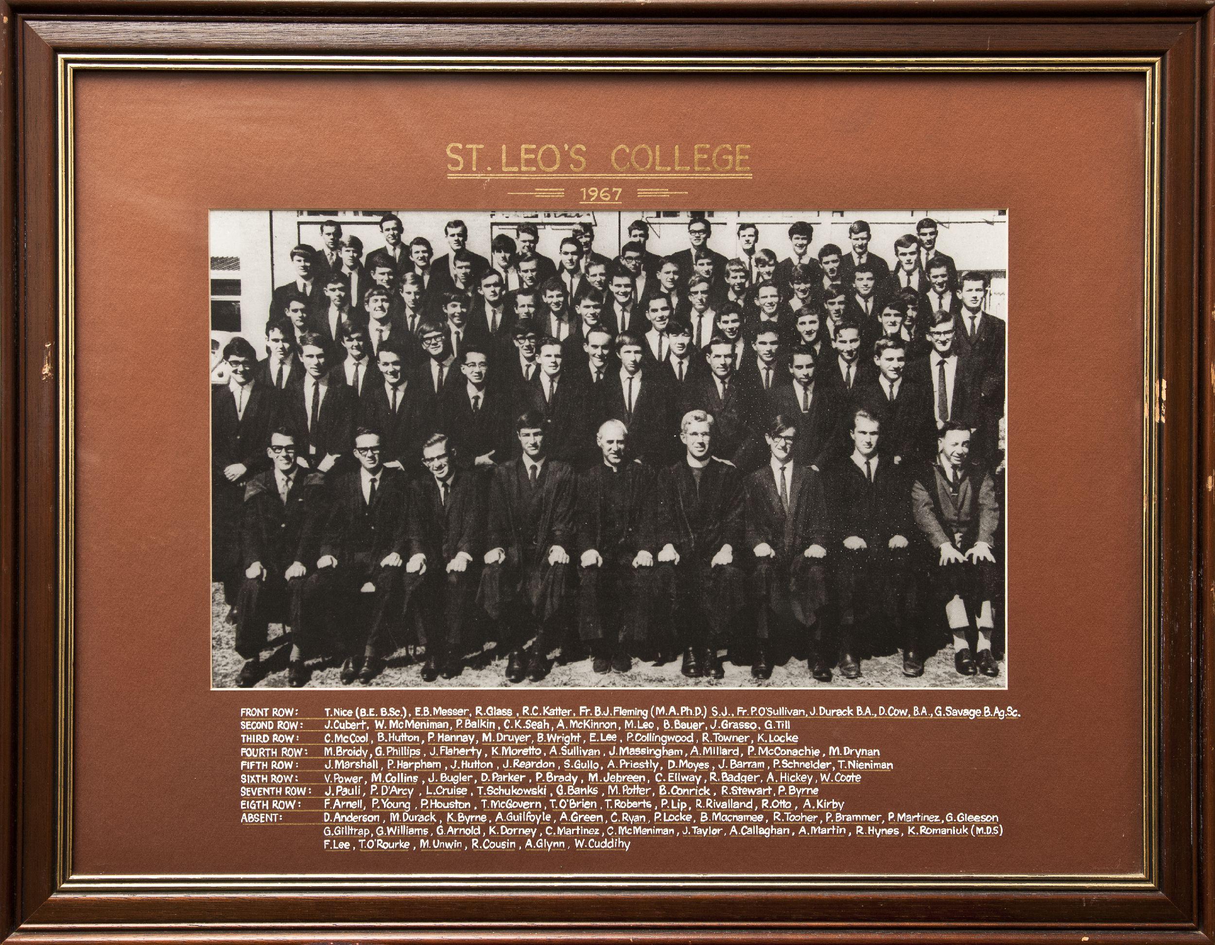 St_Leos_College_1967